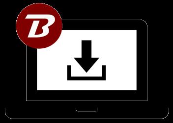 Binfer Web Pickup FIle Sharing Graphic Icon